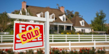 Surging US Housing Markets House With Sold Sign